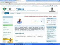 TRACES-View TDS and TCS online (Form 26AS)