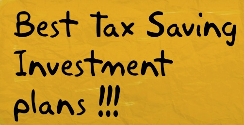 Tax Saving Plans