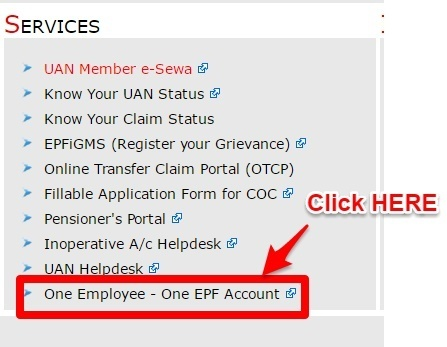 One Employee - One EPF Account