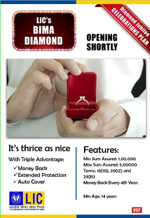 LIC's Bima Diamond Plan No.841