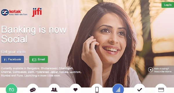 Kotak Jifi Account-World's First Socially powered Banking !!!