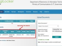 DigiLocker-Aadhaar based Govt of India's Digital Locker