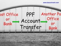How to transfer PPF Account from Post Office or Bank to another Post Office or Bank?