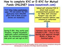 How to complete KYC or E-KYC for Mutual Funds ONLINE?
