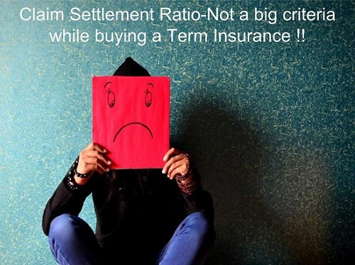 Term Insurance-Claim Settlement Ratio no more a big criteria