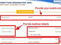 EPF UAN registration or activation and allotment are now online