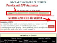 How to combine or consolidate multiple EPF Accounts online?