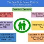 X Tax benefits for senior citizens