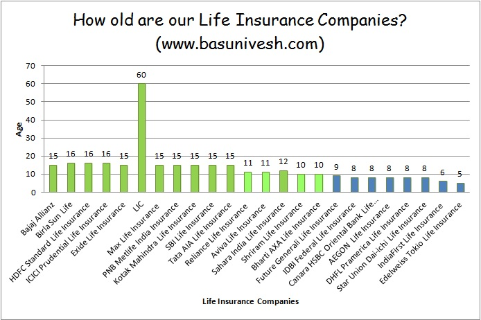 Age of Life Insurance Companies