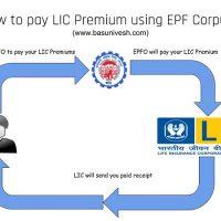 pay LIC Premium Payment using EPF corpus