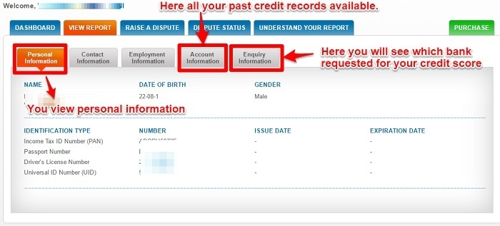 How to check CIBIL credit score online for free?