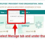 Update KYC in EPFO