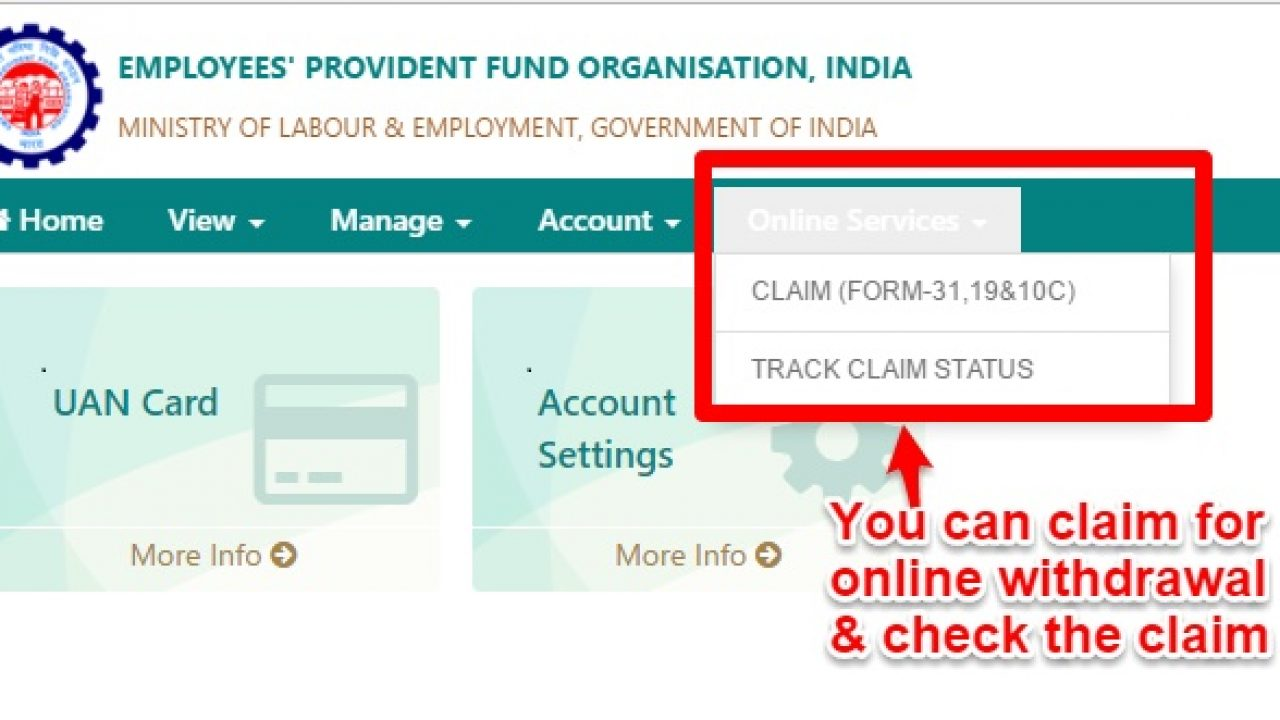 How to withdraw EPF and EPS online? - BasuNivesh