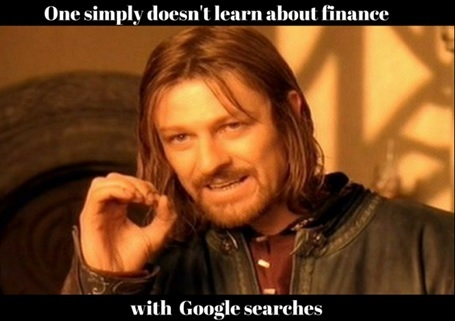 Google Search on Personal Finance