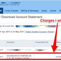 HDFC Bank check bank statements