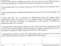link Aadhaar with PAN Card OFFLINE