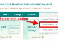 transfer EPF online using EPF Unified portal