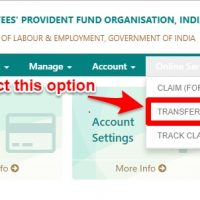 transfer EPF online using EPF Unified portal