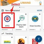 withdraw EPF using Umang App