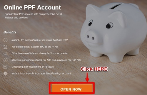 Online PPF Account Open Now