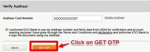 PPF Account Opening Aadhaar OTP