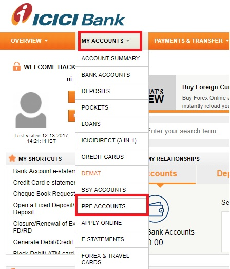How to open PPF account online in ICICI and SBI Banks?