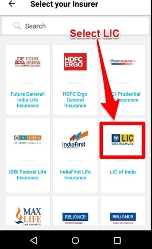 pay LIC Premium on Paytm