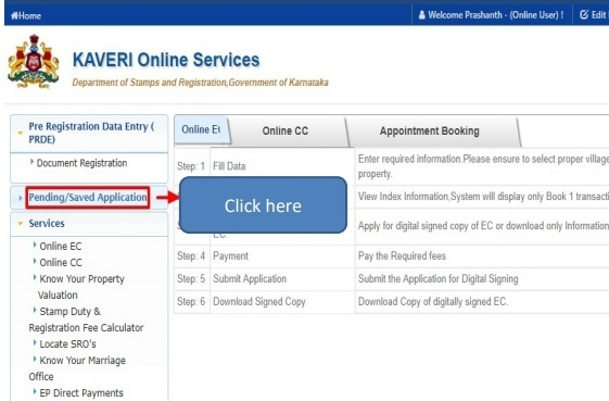 How to get Encumbrance Certificate online in Bangalore?
