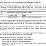 SBI Savings Account Interest Rate