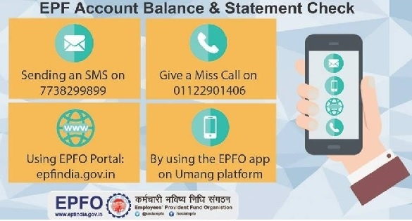 Check EPF Balance instantly – 4 ways to check