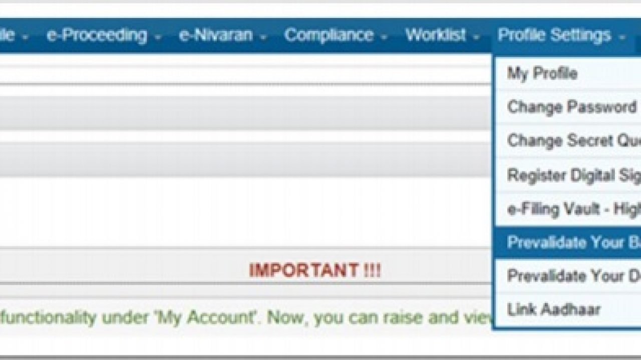 How To Pre Validate Bank Account