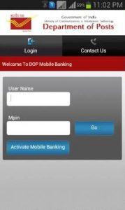 Online deposit in Post Office PPF, Sukanya Samridhi, RD India Post Mobile Banking App
