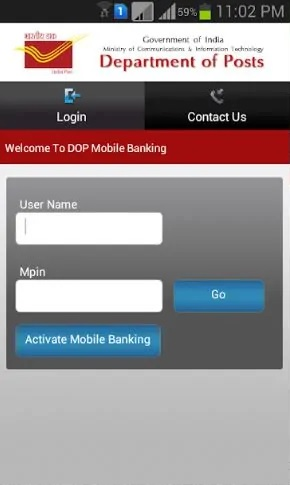 Online deposit in Post Office PPF, Sukanya Samridhi, RD India Post Mobile Banking App