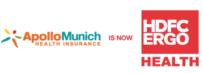 Apollo Munich Health Insurance is now HDFC ERGO Health