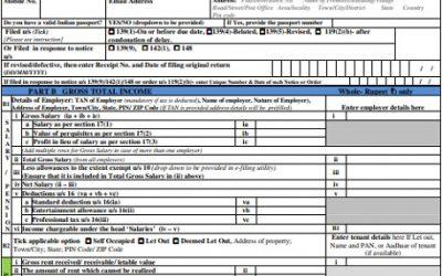 Download Income Tax Return Forms AY 2020-21 – ITR-1 Sahaj ITR-4 Sugam