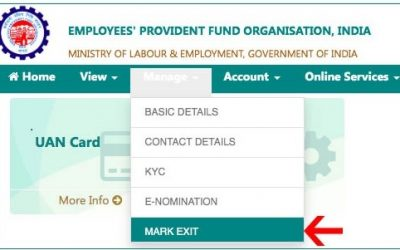 How to update EPF Date of Exit Online without employer?