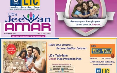 LIC Term Insurance Plans 2020 – Features and Benefits