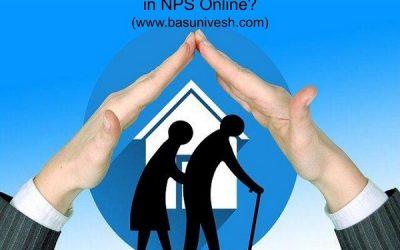 How to change nominee in NPS online?