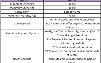 Saral Jeevan Bima Term Life Insurance – Features, Eligibility, and Benefits