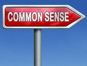 Commonsense BEFORE investing