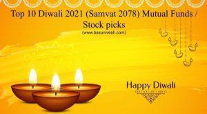 Top 10 Diwali 2021 (Samvat 2078) Mutual Funds / Stock picks